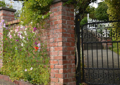 Garden-gate-and-wall